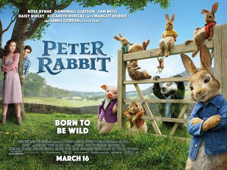 Peter Rabbit Official Promotional Poster