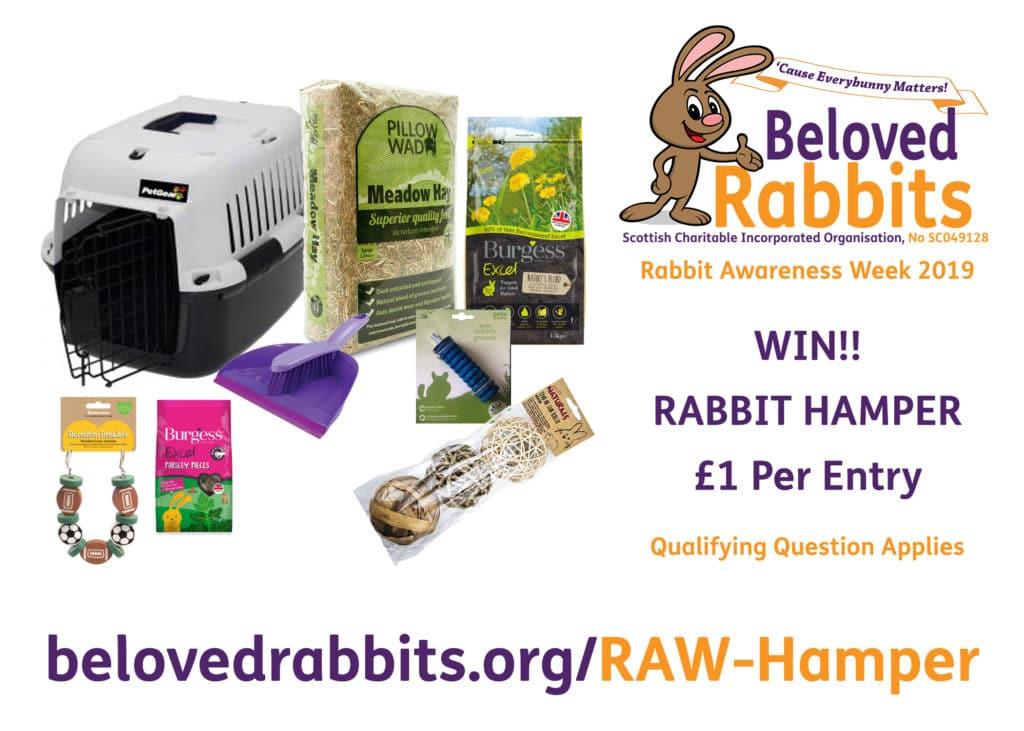 RAW Rabbit Hamper Competition